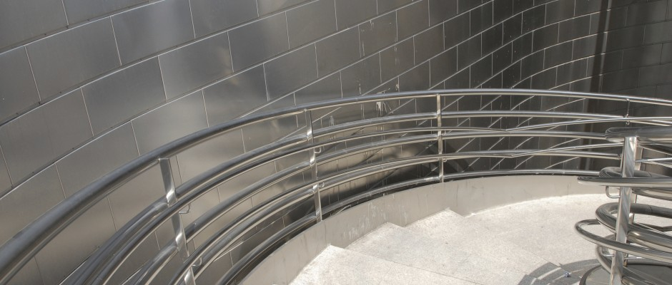 Eample of a Stainless Steel Staircase railing